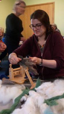 wool combing